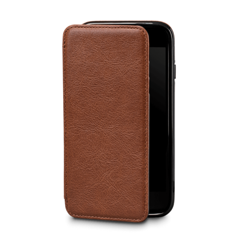 Clip folio leather. Premium cases for iphone