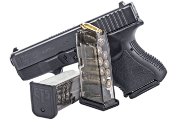 Clip from mag. Ets group glock magazines