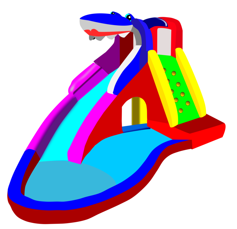 Pool clip water park. Slide amusement playground free