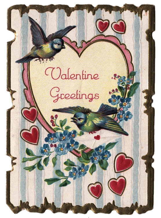 Clip from vintage. Free art valentine the