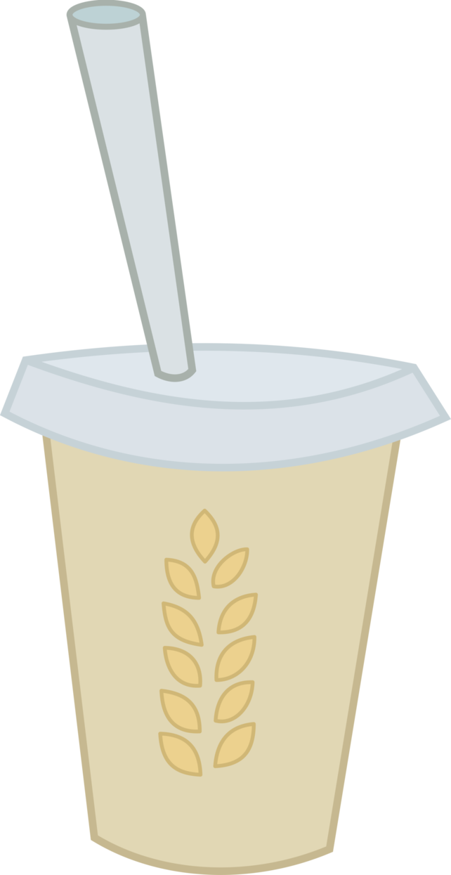 Hay vector straw. Smoothie extra by hourglass