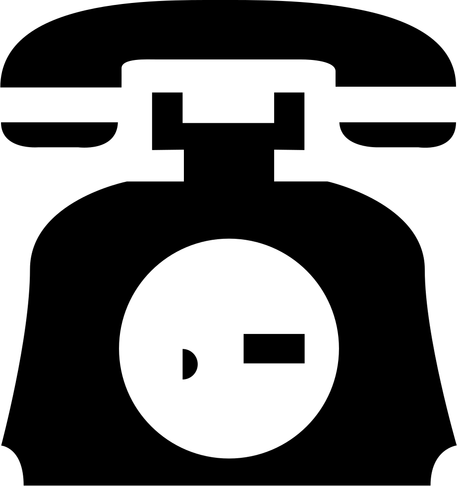 Clip icon old phone. Si glyph svg png