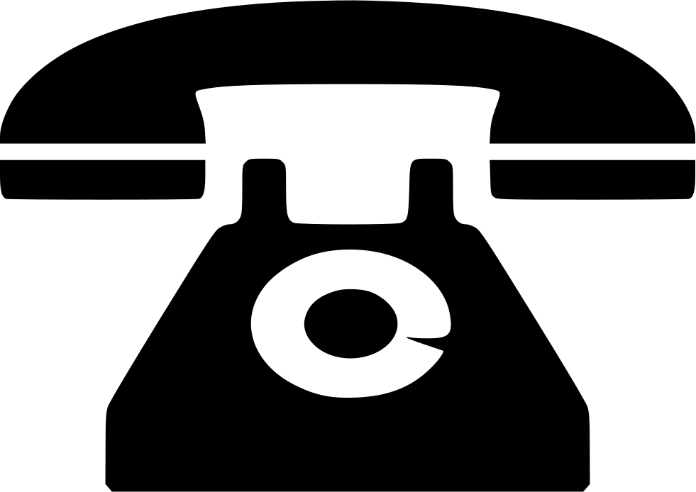 Clip icon old phone. Svg png free download