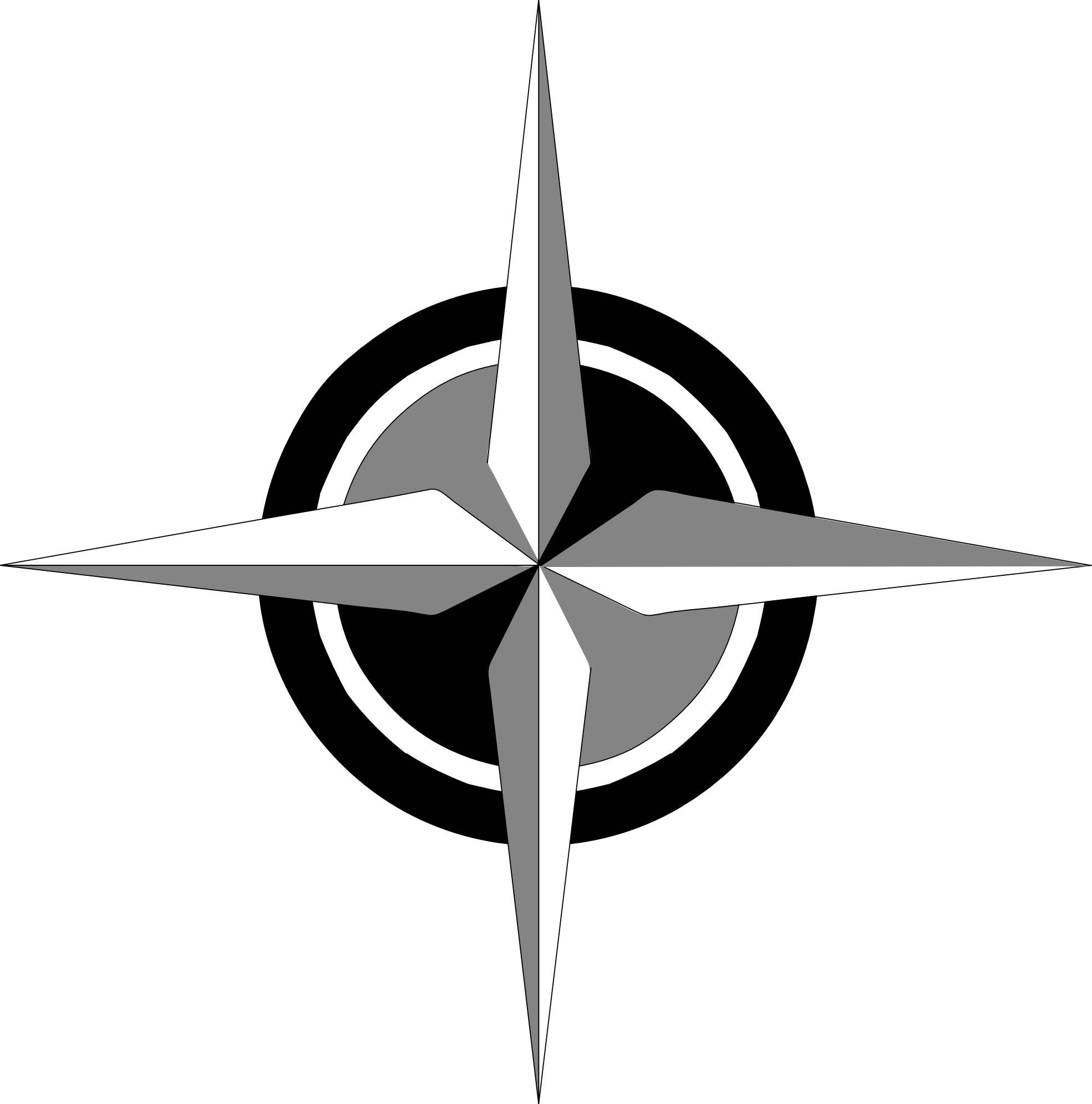 Clip junkie vector. Free compass rose clipart
