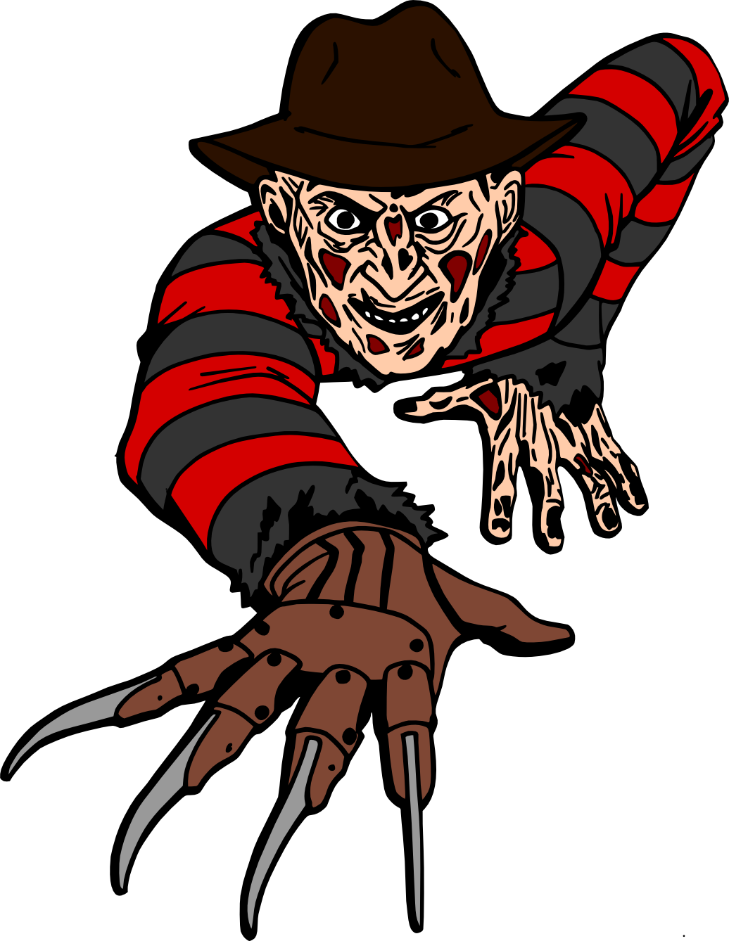 Clip movis freddy vs jason. Crafting with meek krueger