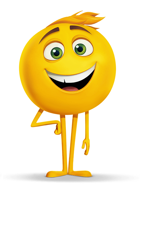 Character transparent movie. Gene emoji png stickpng