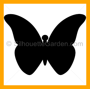 Clip net carwad. Awesome butterfly silhouette cliparts