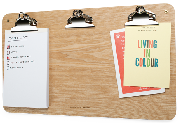 Clip organizer office. Multiclip noticeboard by universal