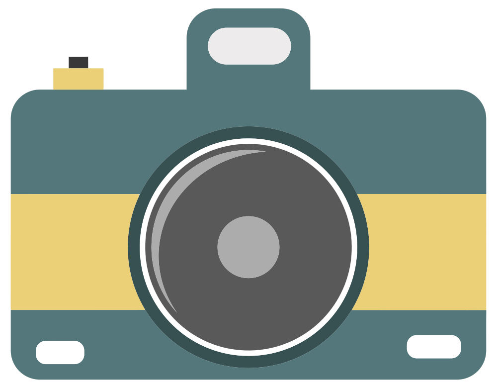 Clip picture camera. Onlinelabels art icon