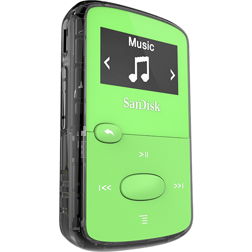 Jam mp sandisk green. Clip player sansa clip  svg free library