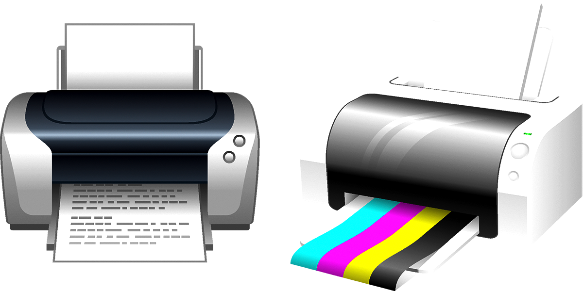 Clip technology electronic device. Printer art transprent png