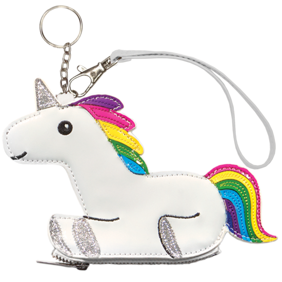 Clip purse key. Unicorn chain iscream picture