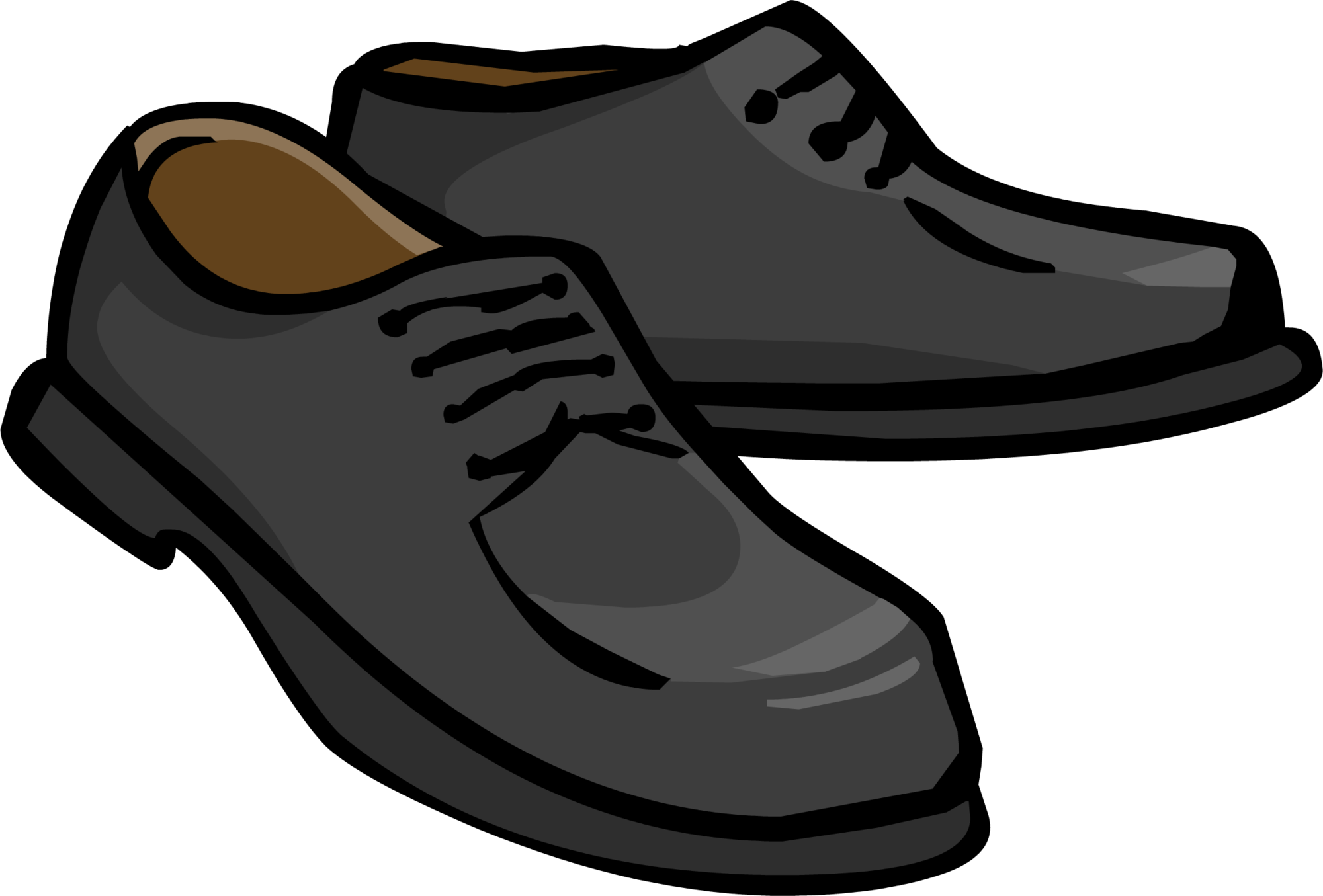 Clip shoes. Sneakers clipart library