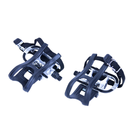 Bike clip pedal. Indoor cycle set cycleops