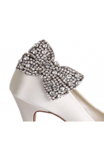 Brooch clip shoe. Wedding clips selena diamant