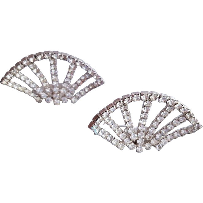 Clip shoes rhinestone. S shoe clips