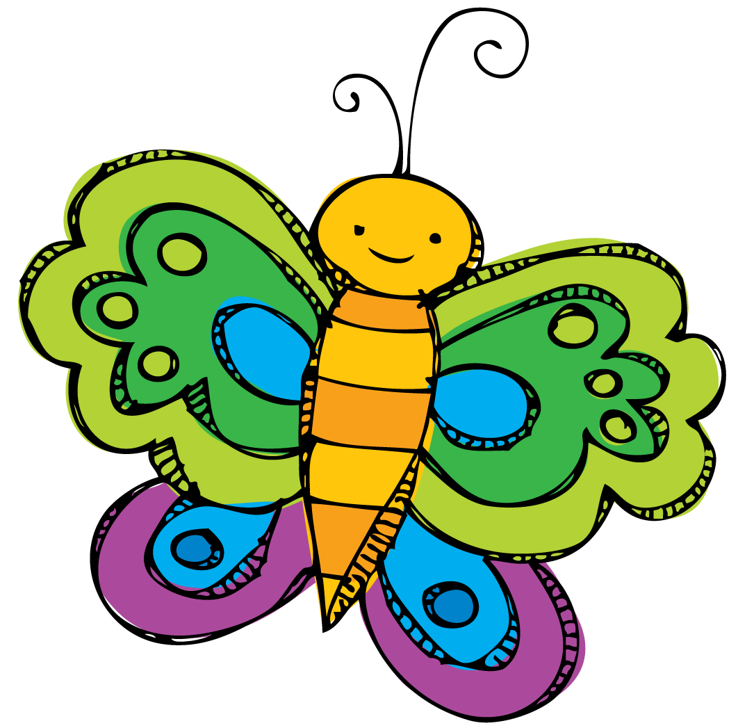 Clip spring butterfly. Clipart freeuse huge