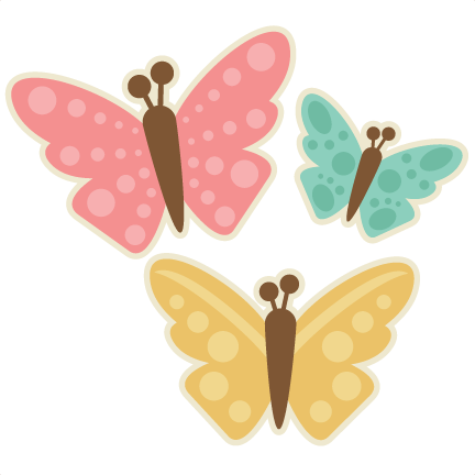 Set svg cutting files. Clip spring butterfly picture download