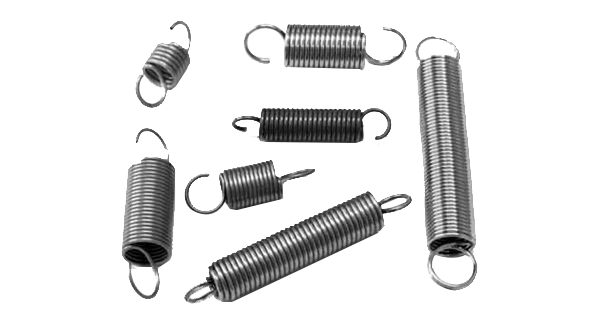 Clip spring fastener. Wire connecting anchor fasteners