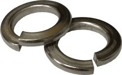 Clip spring washer. Washers stainless steel din