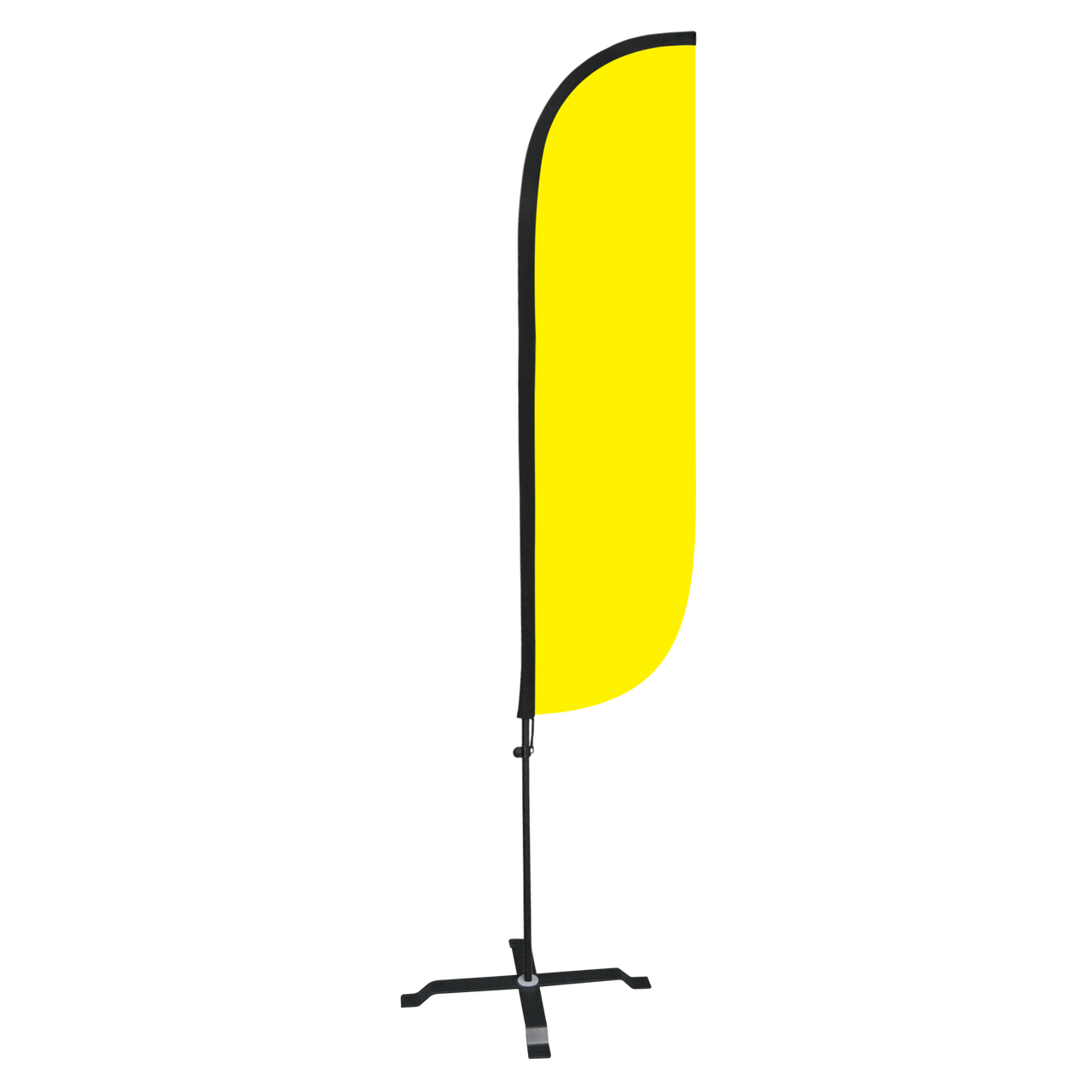 Clip stand pole. Yellow feather flag sale