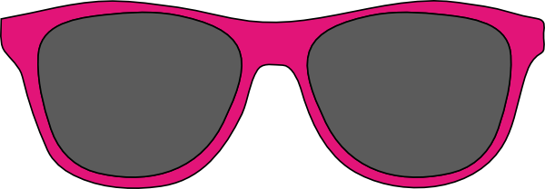 Clip sunglasses art. Cartoon free cliparts