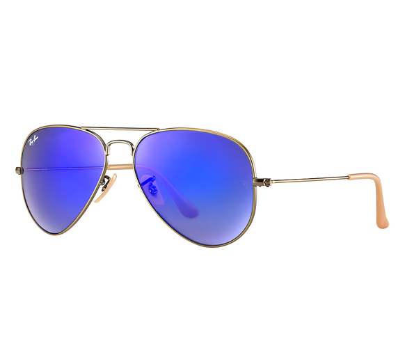 Clip sunglasses metal. On ray ban aviator