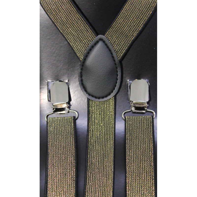 Clip suspenders kid. Adjustable elastic sfm or