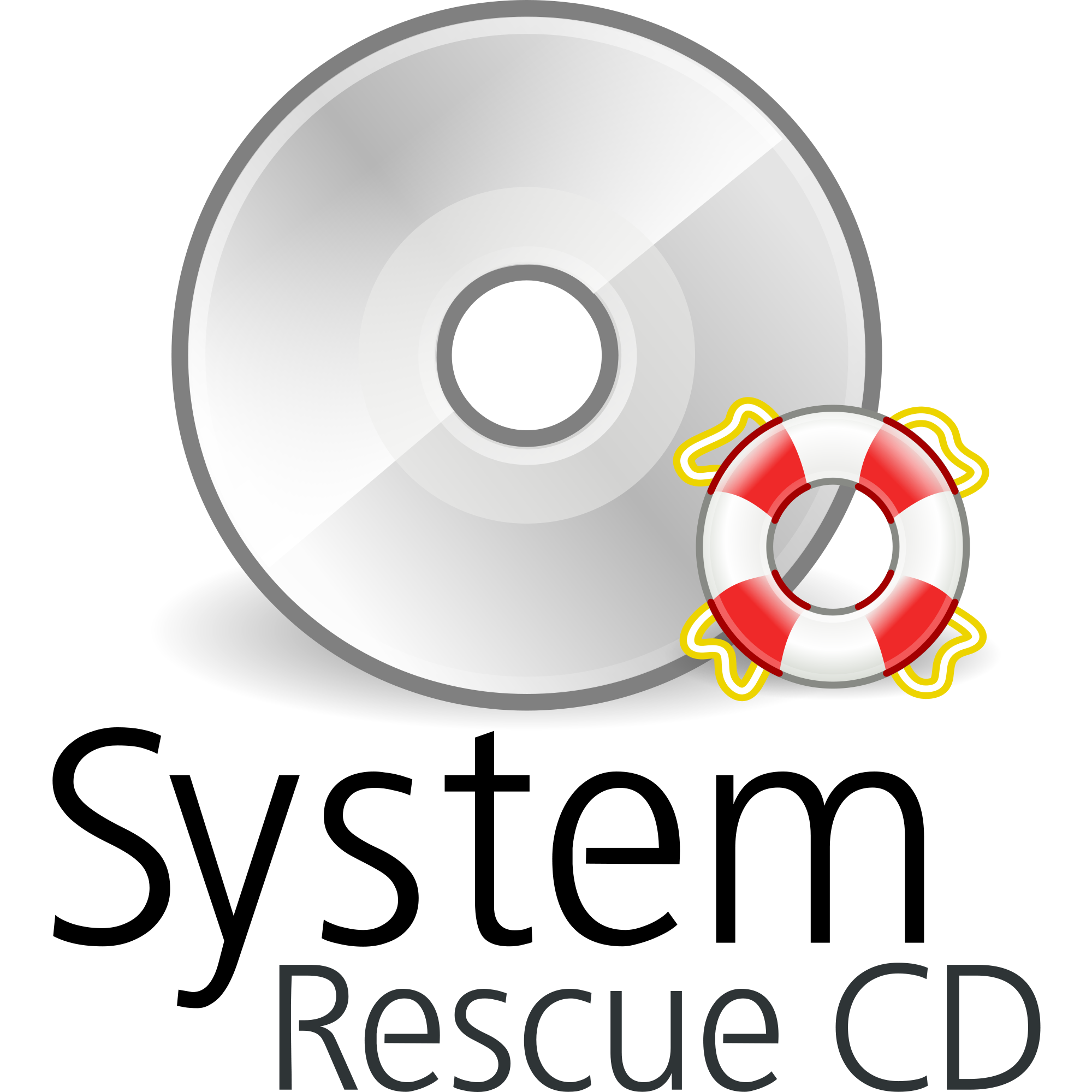 Clip system iso. Rescue cd usb install