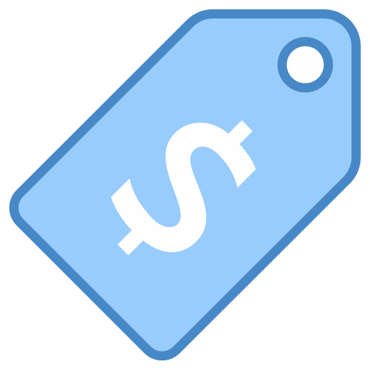 Clip tag blue. Computer icons price art