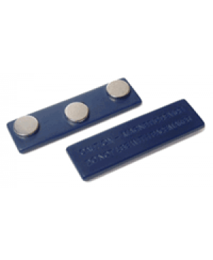 Clip tag fastener. Badge fasteners name clips