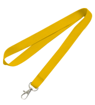 Clip from lanyard. Blank double lanyards accessories