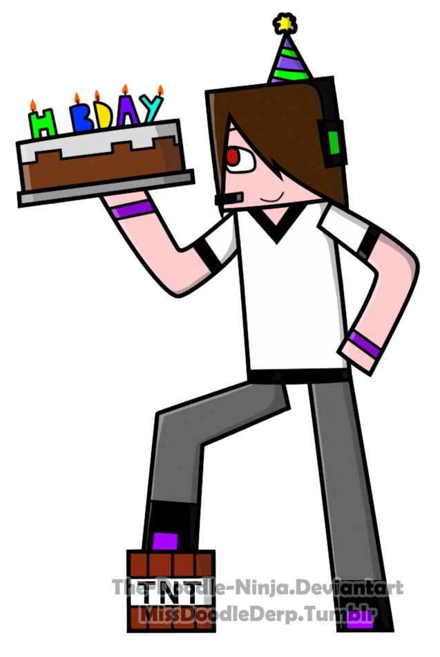 Minecraft drawing birthday transprent. Clip technology doodle art free