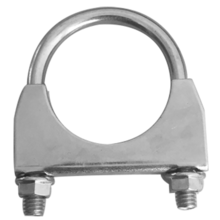 Clip types saddle. U type pipe clamp