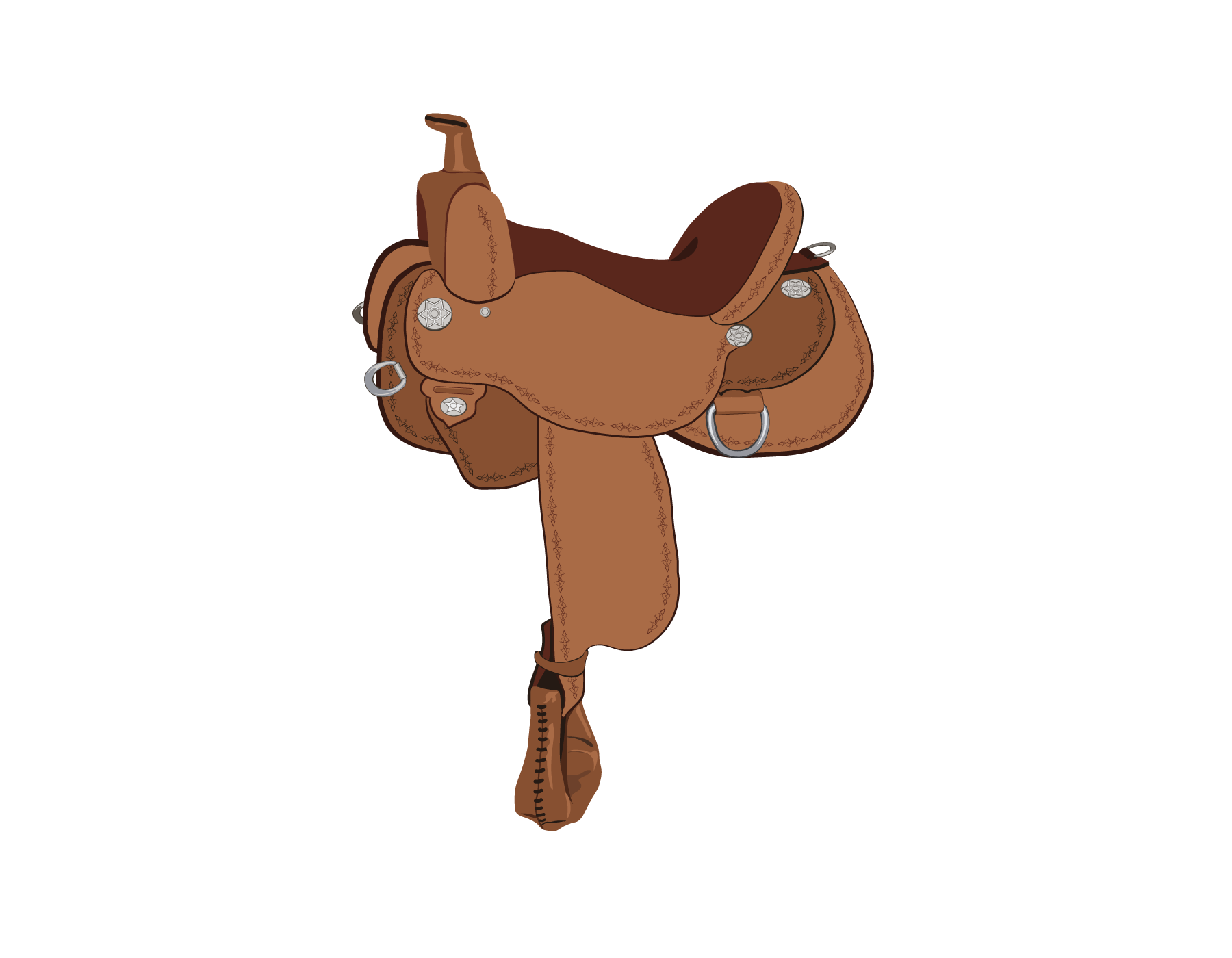 Continental clip english saddle. Identify horse types play