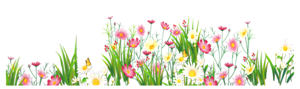 Clipart flowers and butterflies png. Station
