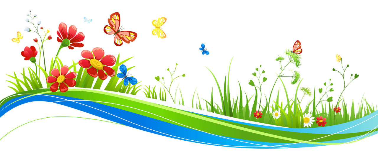 Clipart flowers and butterflies png. Transparent decoration with picture