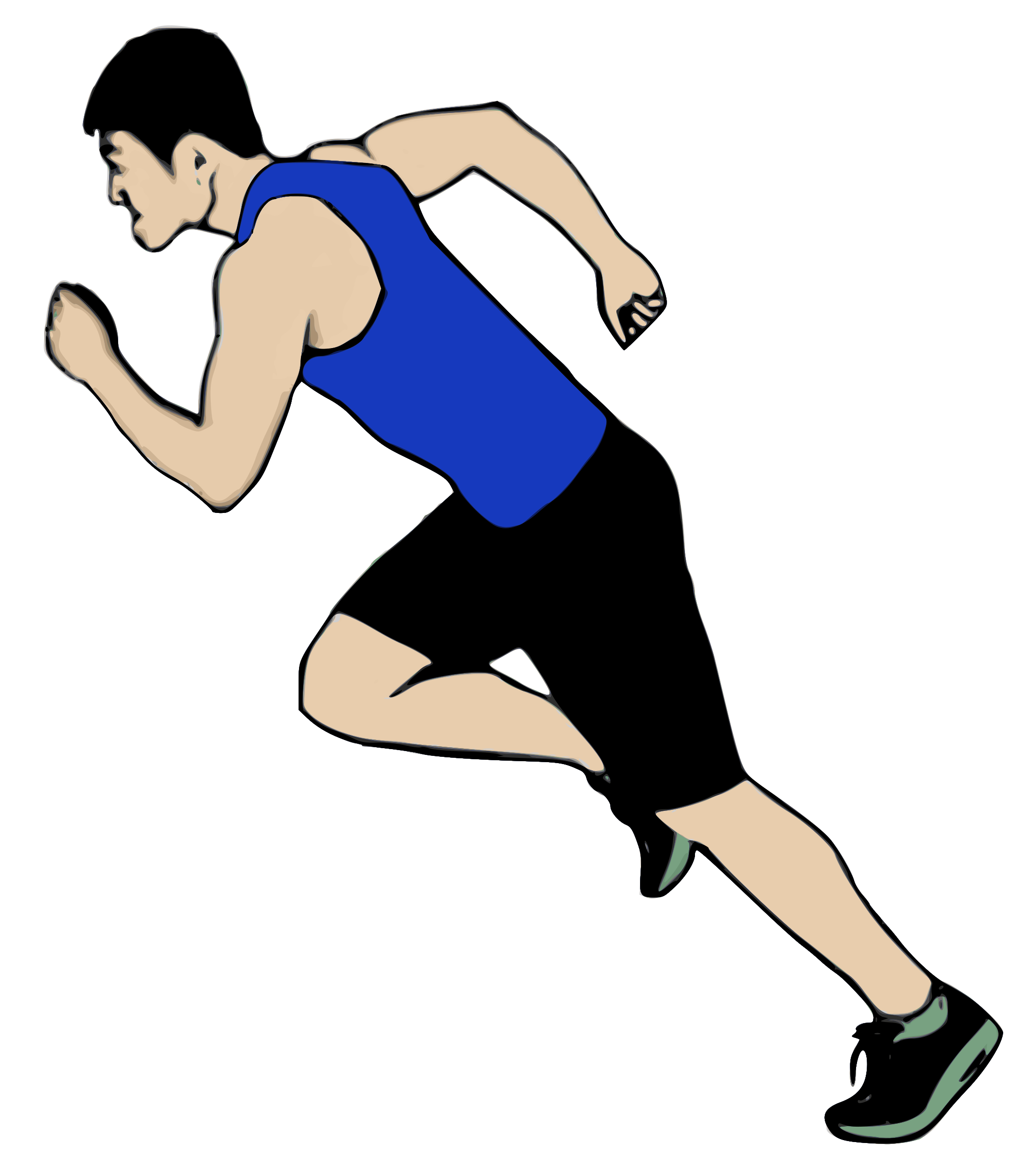 Clipart runner png. Big image