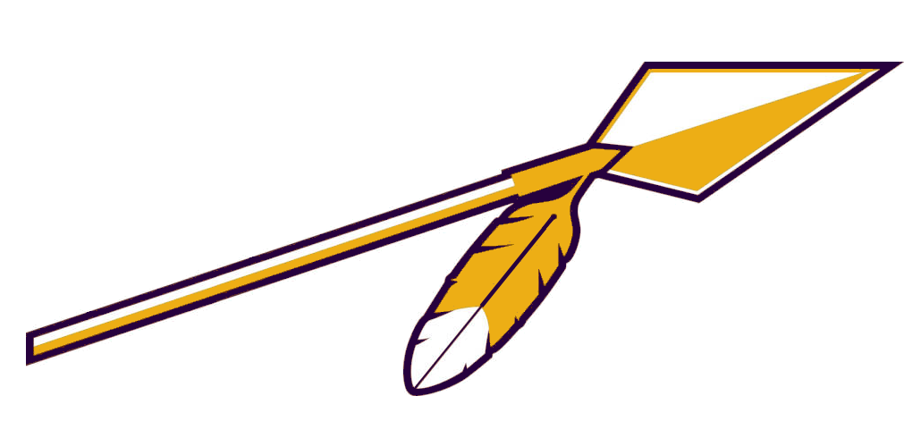 Clipart spear png. Gold purple free images