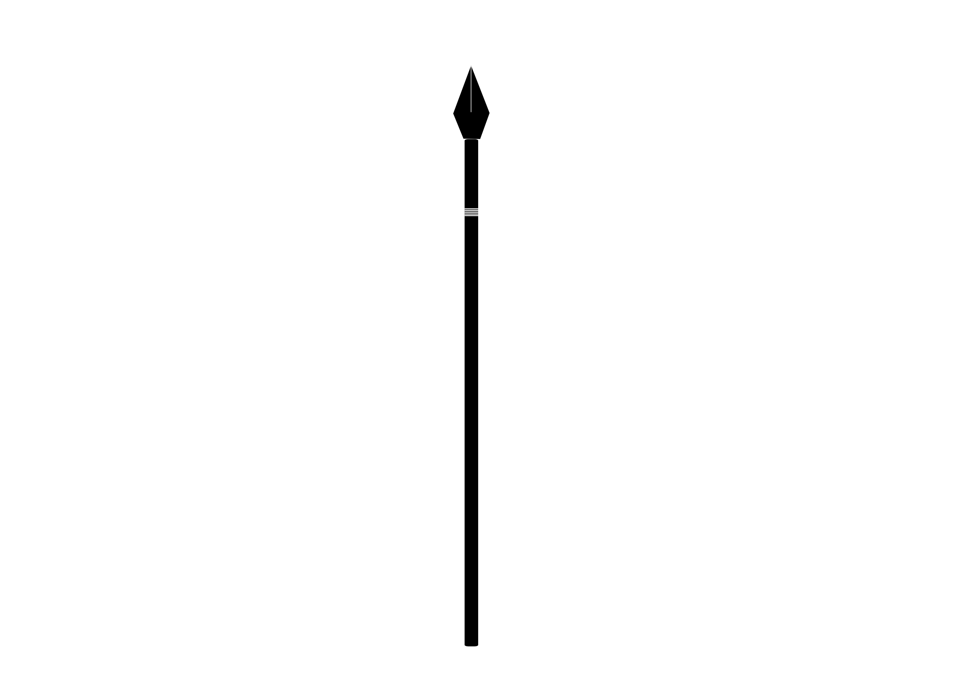 Spear transparent png. Clip black and