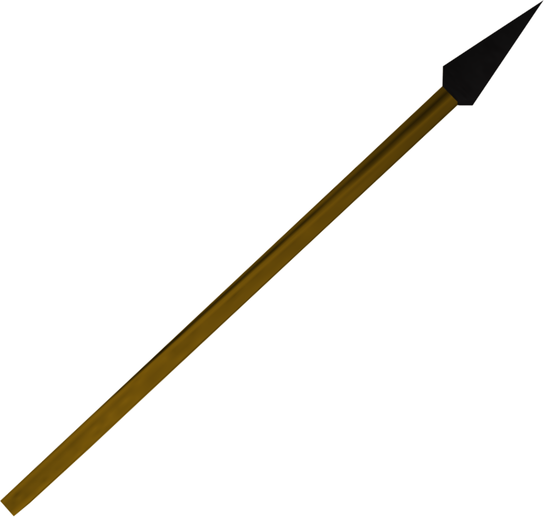 Clipart spear png. Clip black and