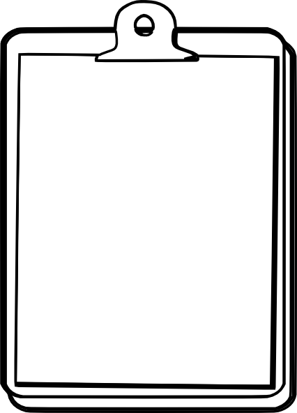 Clipboard png transparent. Clip art at clker