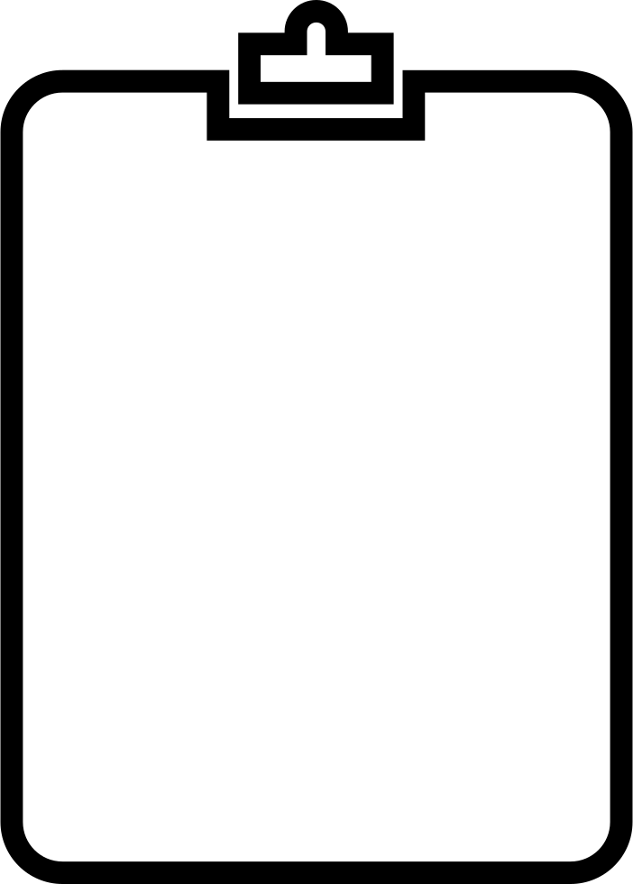 Png clipboard. Outline svg icon free