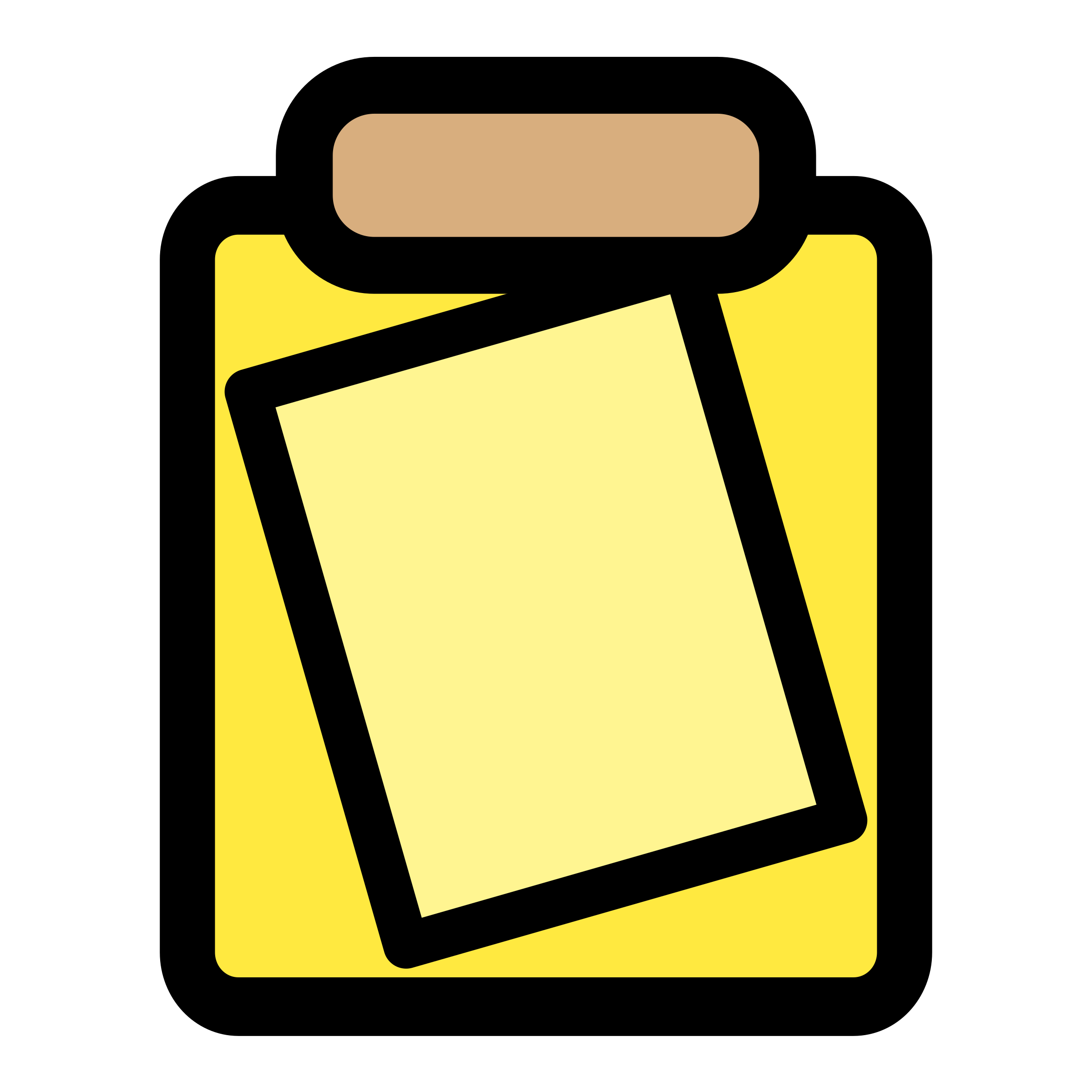 Transparent clipboard big. Primary tool icons png