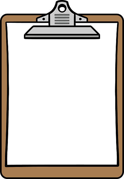 Clipboard clipart. Fine design clipartxtras coloring