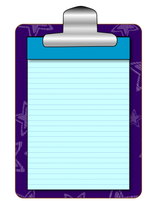 Clipboard clipart lined paper. Clipboards clip art from