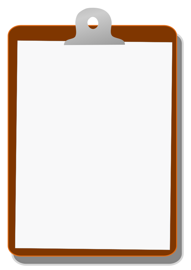 Clipboard drawing wooden. Free clip download art