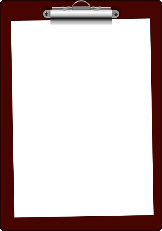 Clipboard clipart frame. Best office and