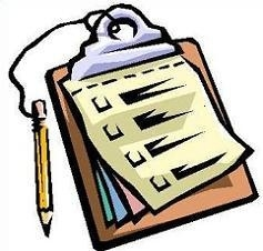 Clipboard clipart. Letters free for