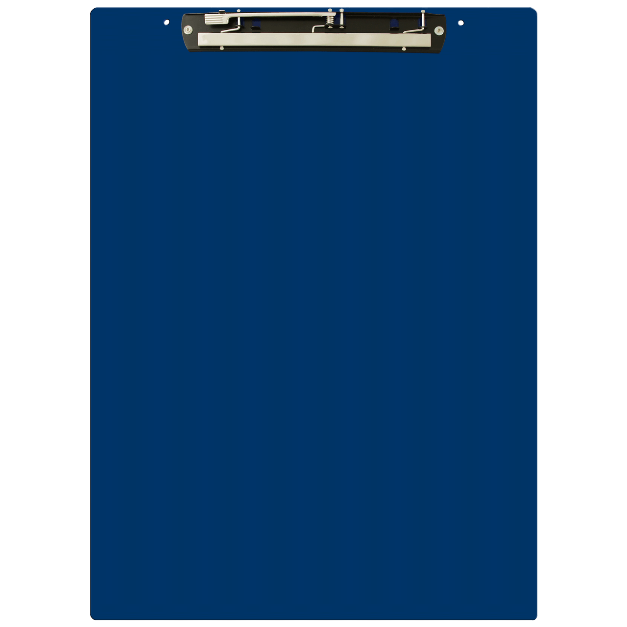 Transparent clipboard blue. Ruby paulina x acrylic